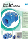 Metal Seat Swing Check Valve Brochure