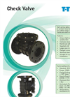 Swing Check Valve- Brochure