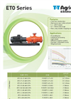 T-T-Pumps - Model ETO Range - Horizontal Electric Chopper Pumps Brochure