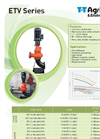 T-T-Pumps - Model ETV Series - Vertical Electric Chopper Pumps Brochure