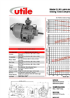 Utile - CL90 - Lubricated Rotary Sliding Vane Compressor - Specification