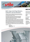 Multi-stage Centrifugal Blowers, Exhausters And Gas Boosters - Brochure