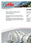 Side Channel Compressors & Exhausters Jet Series - Brochure