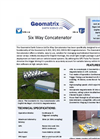 Geomatrix Six Way Concatenator Datasheet