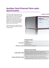 AvaSpec Multichannel Fiber Optic Spectrometers Brochure