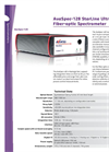 AvaSpec-128 Ultrafast Fiber Optic Spectrometer Brochure