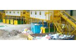 Waste recycling systems for municipal solid waste (MSW)