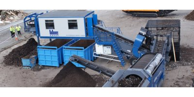 Waste recycling systems for composting