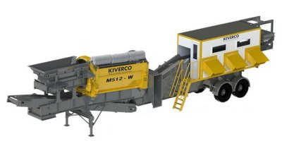Kiverco - Model M512 - Mobile Recycling Station