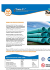 Trans - Model 21 - Cast Iron PVC Pressure Pipe Brochure