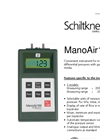 ManoAir - Model 100 - Low-Pressure Manometer (Micro-Manometer) Brochure