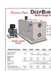 DEEP BUBBLE - DB-64 - Multi-Stage Aeration Systems Brochure
