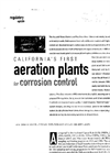 California`s First Aeration Plants for Corrosion Control - 2002 Brochure