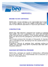 Mikrocell - String Wound Filter Element Brochure