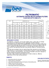Filtromatic - Model FI - Medium Flow Rate Automatic Backwashing System Brochure