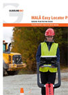 MALÅ Easy - Model EL Pro - Locator Brochure