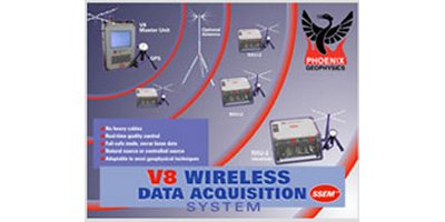 Model V8 Wireless - Data Acquisition System