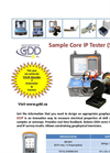 Sample Core IP Tester (SCIP) Brochure