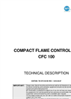 Compact Flame Controller CFC100 Technical Description - Brochure