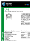 Model LF-S - Benchtop Single Head Leak Testing Machine Brochure
