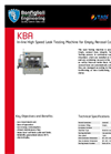Model KBA - In-line High Speed Leak Testing Machine Brochure