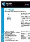 Model LF-400A - Off-line Leak Testing Machine Brochure