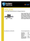 Model HSL200 - In-line Leak Testing Machine Brochure