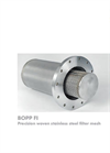 BOPP FI Precision Woven Stainless Steel Filter Mesh - Brochure
