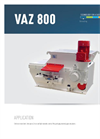 Model VAZ 800 - Shredder Brochure