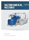 Model VAZ 1300 - Single Shaft Medium Duty Shredders Brochure