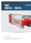 Double-Shaft Re-shredder VNZ 200 XL - 250 XL Brochure