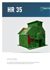Chippers And Mills, Vertical Series HR 35 Brochure