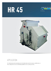 Chippers And Mills, Vertical Series HR 45 Brochure