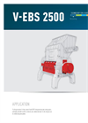 Model V-ECO 900 - Alternative Fuel Shredder Brochure