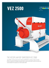 Model VEZ 2500 - High Capacity Shredder- Brochure