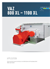 Model VAZ 1100 - Single Shaft Shredders- Brochure