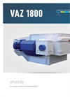 Model VAZ 1800 - Single Shaft Medium Duty Shredders Brochure