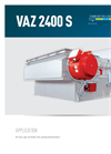 Model VAZ 2400 - Single Shaft Medium Duty Shredders Brochure