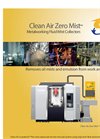 Clean Air ZeroMist Oil Mist & Oil Smoke Filtration Brochure