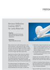 Heraeus - Reflective Coating (HRC) for Lamp Materials Brochure