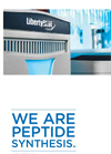 CEM - Model Liberty Blue - Automated Microwave Peptide Synthesizer - Brochure