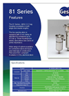 Filter Bag Housing 81 Series Brochure