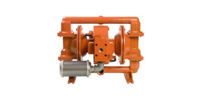 Wilden - Model H200 - 1 Inch / 25 mm High Pressure Air-Operated Double-Diaphragm (AODD) Advanced Series Metal Pump