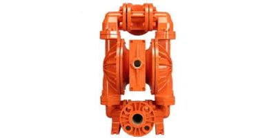 Wilden - Model HX400S - 1.5 Inch / 38 mm High Pressure Air-Operated Double-Diaphragm (AODD) Advanced Series Metal Pump