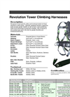 Revolution Tower Climbing Harnesses Datasheet