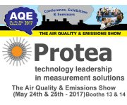 Protea  at the Air Quality & Emissions Show (May 24th & 25th - 2017) in Telford