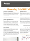 Measurement Solution for Measuring Total VOC via FTIR - Application Datasheet