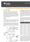 Measurement Solution for CFC Abatement Control via Two Stream FTIR System - Application Datasheet