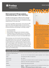 Protea - Model AtmosFIR - Multi-component FTIR Gas Analyse - Brochure