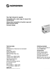 Single Stage Vacuum Pumps M/58112/11 Technical Specification